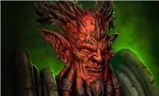 魔兽同人:阿古斯三巨头 欺诈者基尔加丹肖像画
