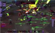 魔兽8.1趣味PVP视频:30名术士 vs 30名恶魔猎手