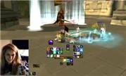 魔兽世界怀旧视频:牧师小姐姐Darksecret vs GM