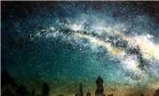 玩家猪肝淦的魔兽世界水彩作品 艾泽拉斯的星空