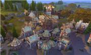 魔兽玩家精心力作 游戏模拟人生4中的雷霆崖主城