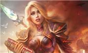 魔兽世界玩家原创同人画作:吉安娜之破碎的灵魂