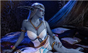 上层精灵的星辰 光中之光艾萨拉女王同人COSPLAY