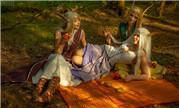 奎尔萨拉斯的盛夏季节 少女版风行者家族三姐妹
