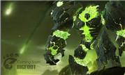 魔兽玩家3D设计作品:燃烧军团地狱火雕像模型