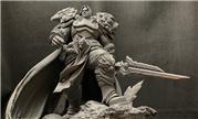 魔兽玩家雕像作品分享:向瓦里安乌瑞恩国王致敬