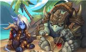 魔兽同人:艾泽拉斯的冒险 德莱尼女孩与始祖龟