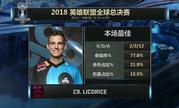 S8淘汰赛C9 vs AFS赛后采访:Licorice:我的队友今天表现得非常棒