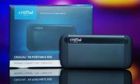 新浪游戏实验室评测:Crucial 英睿达 X8 SSD游戏固态移动硬盘