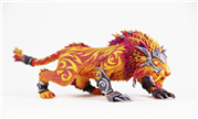 魔兽周边欣赏 国外玩家自制野德火猫神器外观模型
