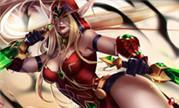魔兽玩家原创同人画作分享:瓦莉拉和希尔瓦娜斯