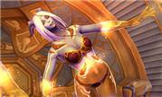 魔兽玩家原创同人画作分享 虚空精灵和光铸德莱尼