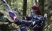 魔兽世界国外Coser精彩演绎 森林中的希尔瓦娜斯