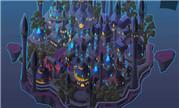 魔兽同人画:那些年我们一起漂浮过的古城达拉然