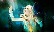 魔兽COS:水下摄影 潮汐王座中的血精灵美女牧师