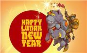 魔兽玩家原创同人画作分享:狗年坐骑戌禅贺新年