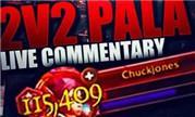魔兽7.3.5版本奶骑Cdew:2V2竞技场视频集锦分享