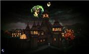 魔兽玩家建模作品:月夜狼啸 狼人之都吉尔尼斯