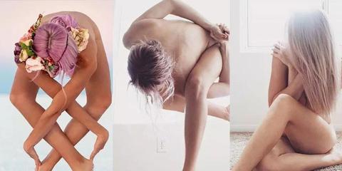 抑郁症女子晒瑜伽裸照治愈无数人