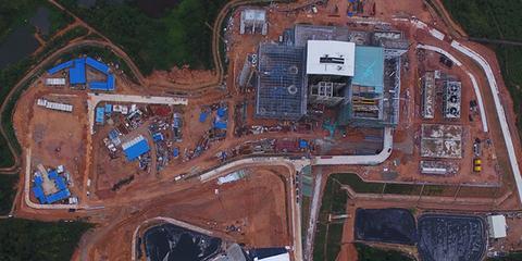 广州一电厂操作平台倒塌 致9人遇难