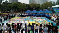 幸福家年华描绘巨大画卷 展示佛山南海家庭健康面貌