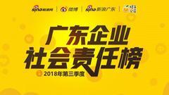 《广东企业社会责任榜》2018年第三季度评选正式启动