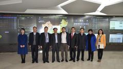 兰州市副市长俞敬东一行考察前海农交所