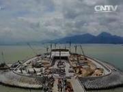 港珠澳大桥主体今全线贯通 探秘6.7公里海底隧道