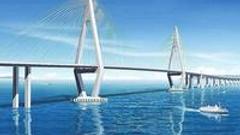 港珠澳大桥历时8年贯通跨越伶仃洋 创多个世界之最