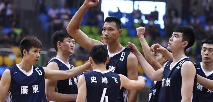 广东男篮胜上海获全运会季军