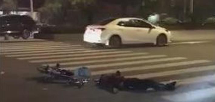 男子开宝马一夜惹出5起车祸