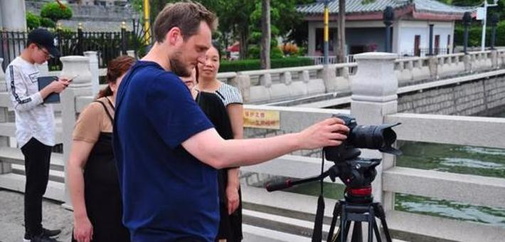 国际级摄制组走进潮州拍摄宣传片