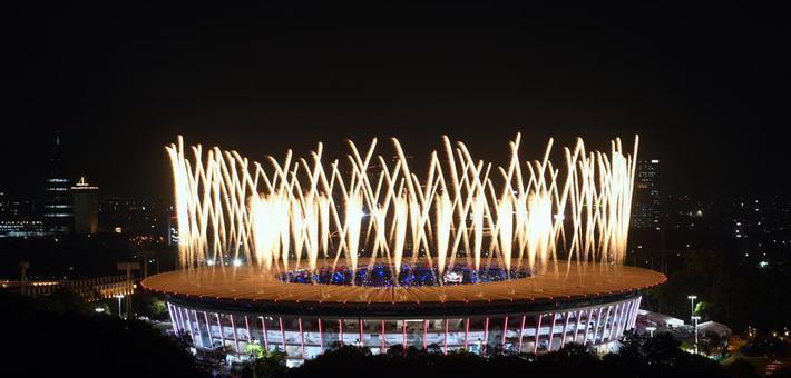 第18届亚运会正式开幕