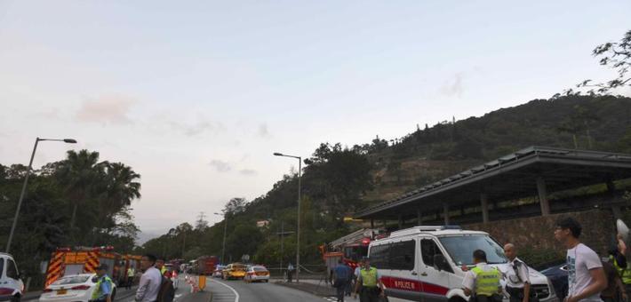 香港发生直升机失事坠落事件致1死