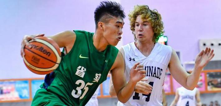 青少年篮球友谊赛在穗开赛