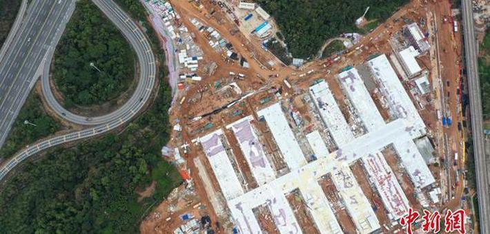 深圳第三人民医院工程院区建设中