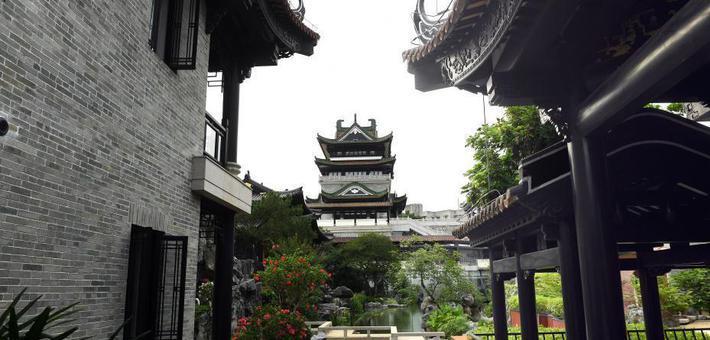 广州市中心藏园林式博物馆