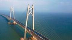 港珠澳大桥主桥用钢量相当60座埃菲尔铁塔