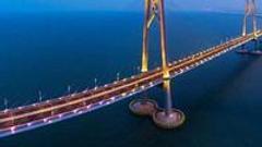 港珠澳大桥24日9时正式通车 为世界最长的跨海大桥