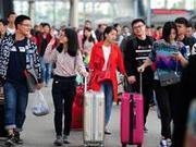正月十五湖南开往广州、深圳等方向的列车有余票