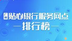 银行网点便民服务大调查 中信夺魁 渤海银行垫底