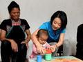 马伊琍探访儿童早期发展项目