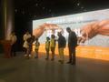 鸟巢米开朗基罗艺术展开幕启动儿童公益项目