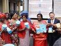 塞总统夫人携贝因美为非洲儿童送健康