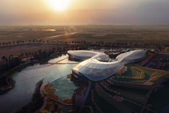 运用建筑的力量赋能中华鲟保护及长江生态圈重构