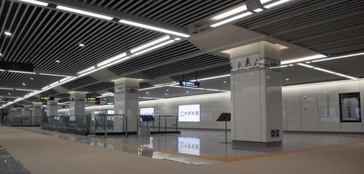 南宁地铁3号线站点进入装修阶段
