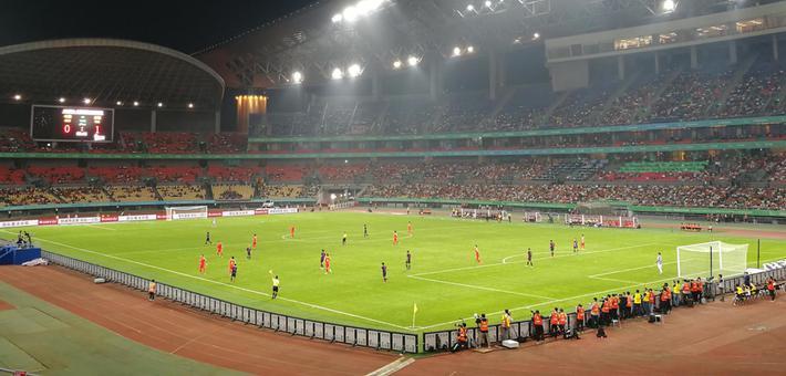 0:1!中国杯首场比赛国足不敌泰国