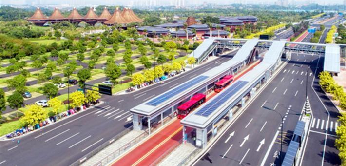 南宁打造国际水准的公交都市