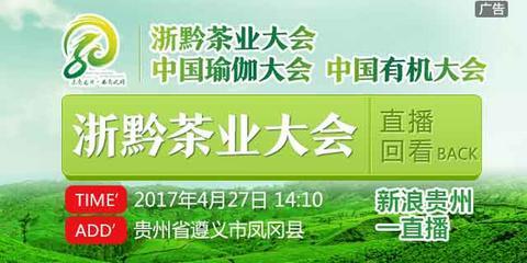 直播回看:2017凤冈浙黔茶业大会