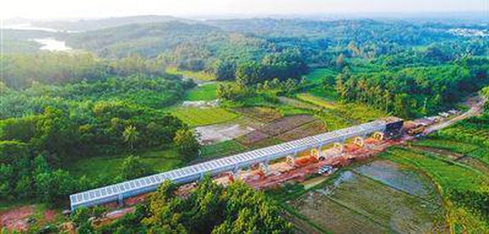 红岭灌区田间工程稳步推进